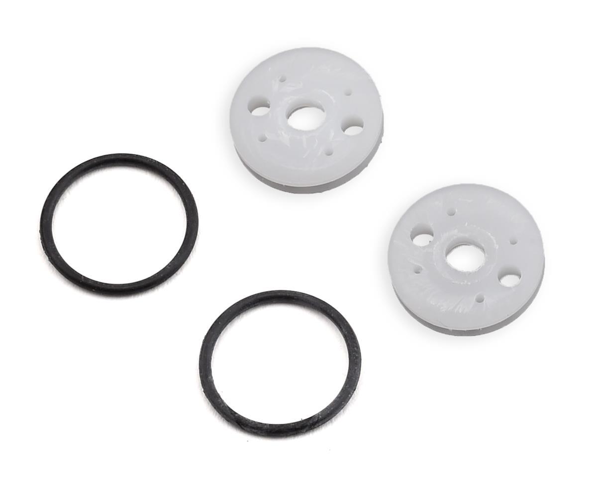 "M2C 13mm EB410 O-Ring ""Thru"" Shock Piston (2) (2x2.0 Hole)"