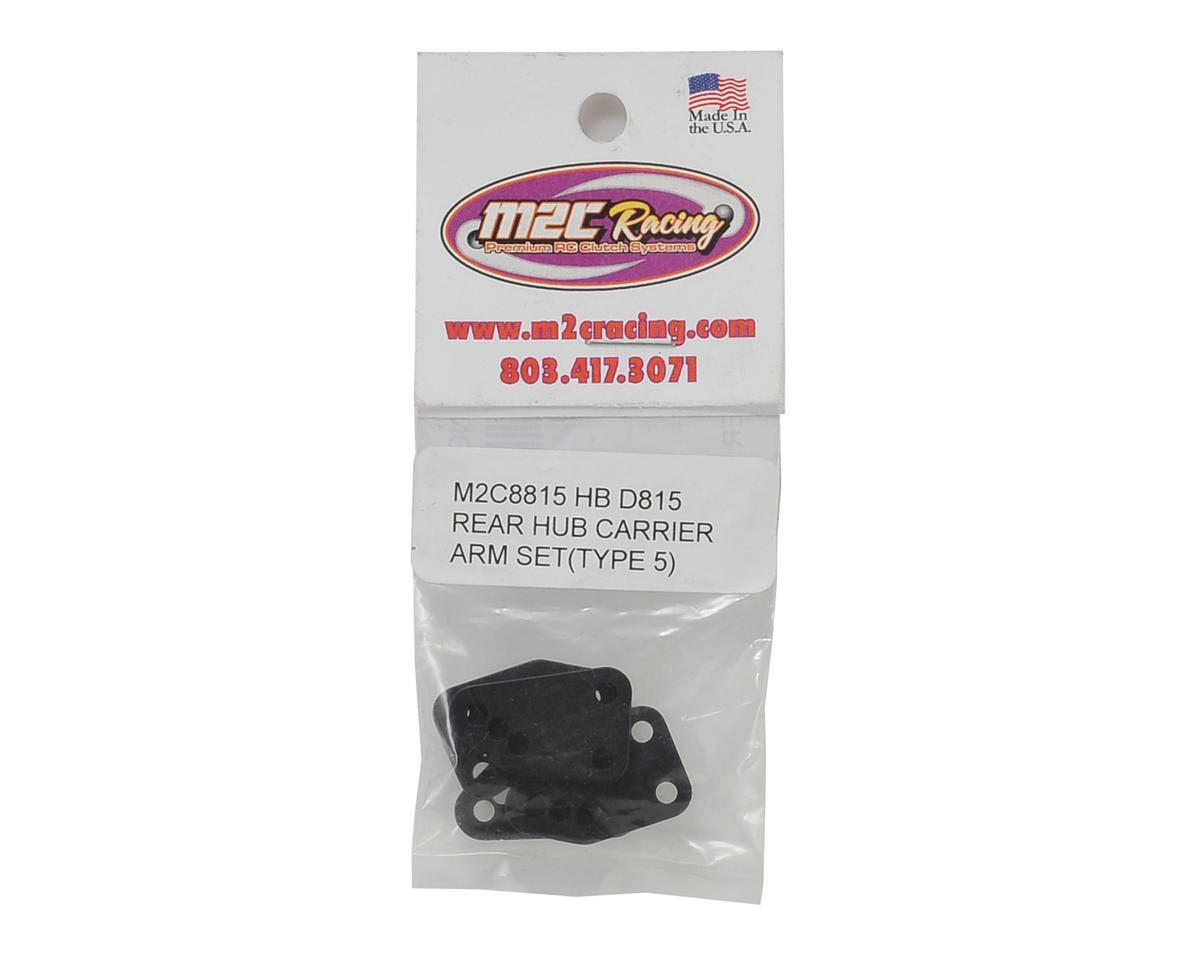 M2C Racing Hot Bodies D815 Rear Hub Carrier Set (Type 5)