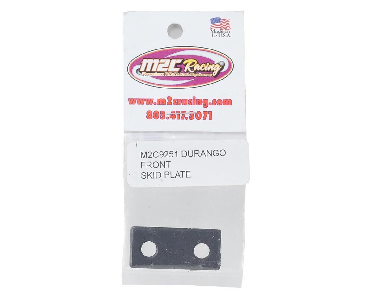 M2C Racing Durango DNX8 Gas Front Steel Skid Plate