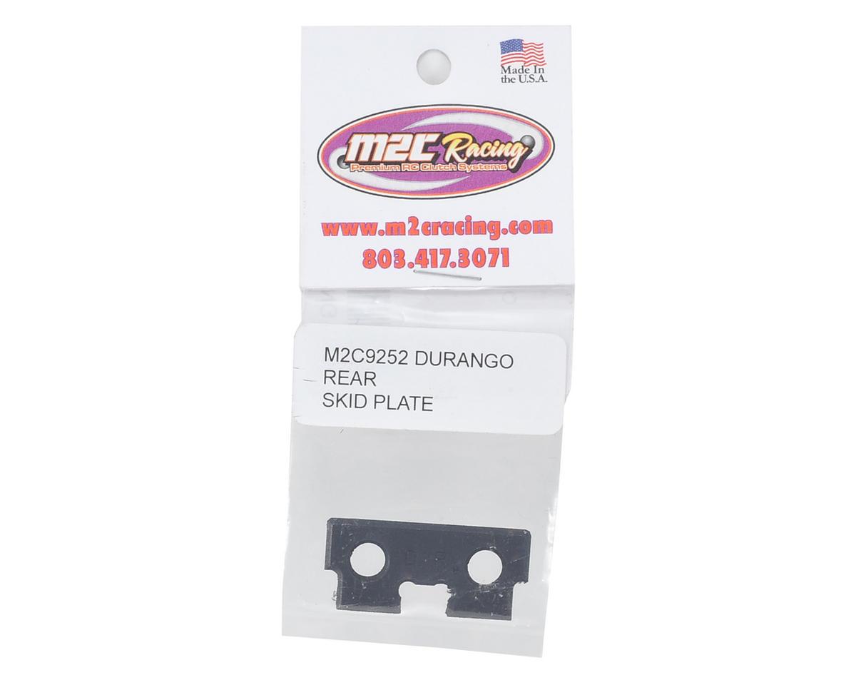 M2C Racing Durango DNX8 Rear Steel Skid Plate