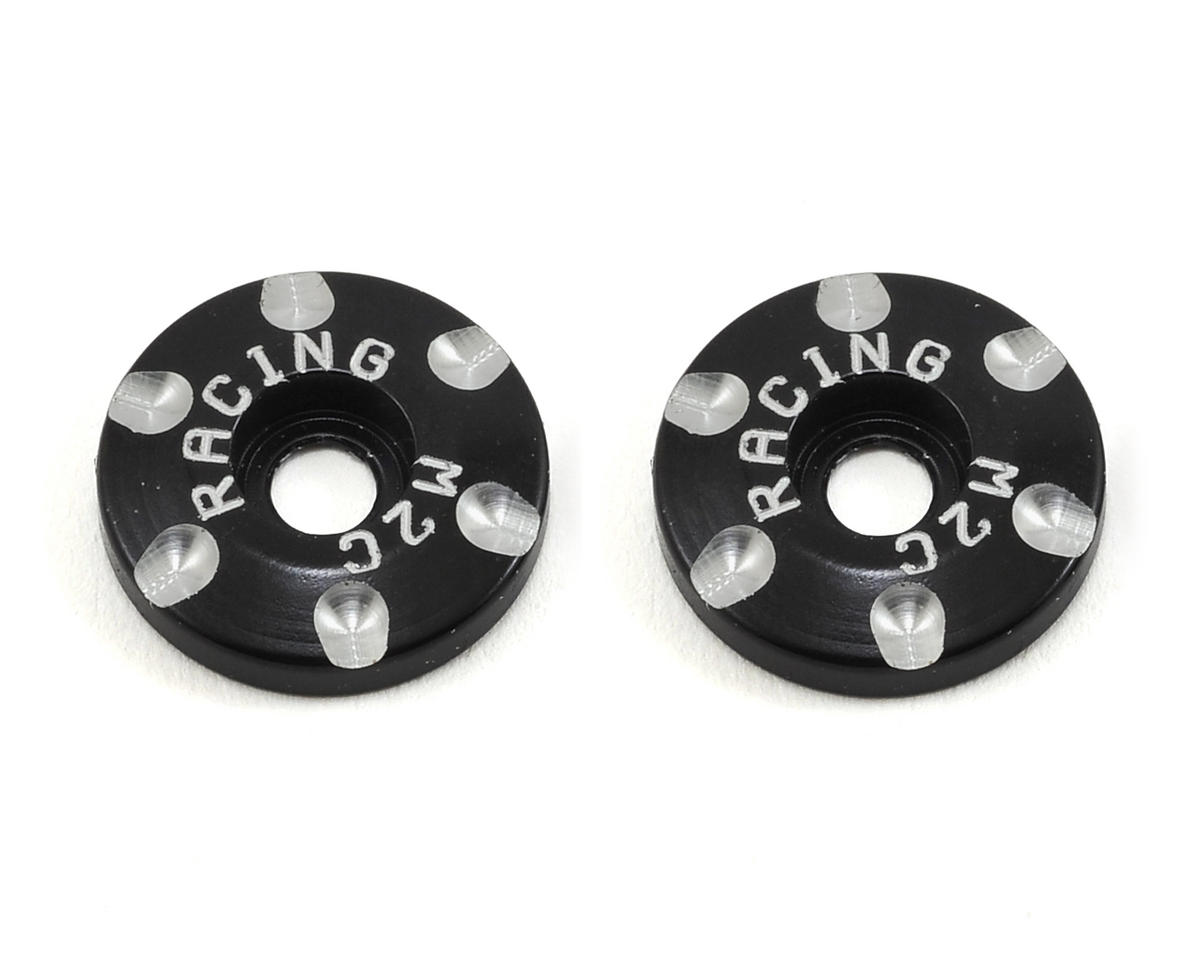 M2C Racing Flat 1/8 Wing Buttons (JQ Products THE Car (Yellow))