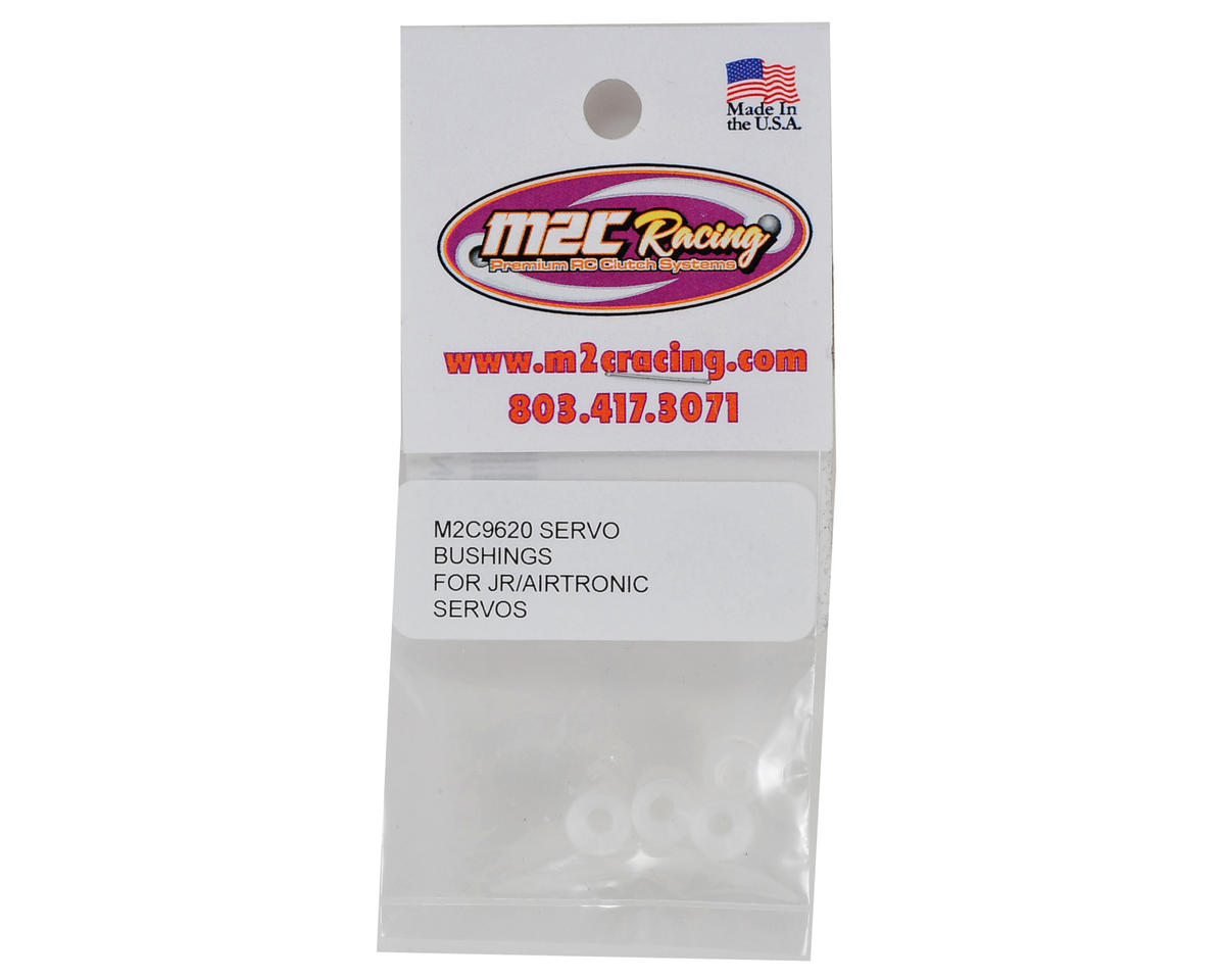 M2C Racing Delrin Servo Bushings (4) (Airtronics/JR)