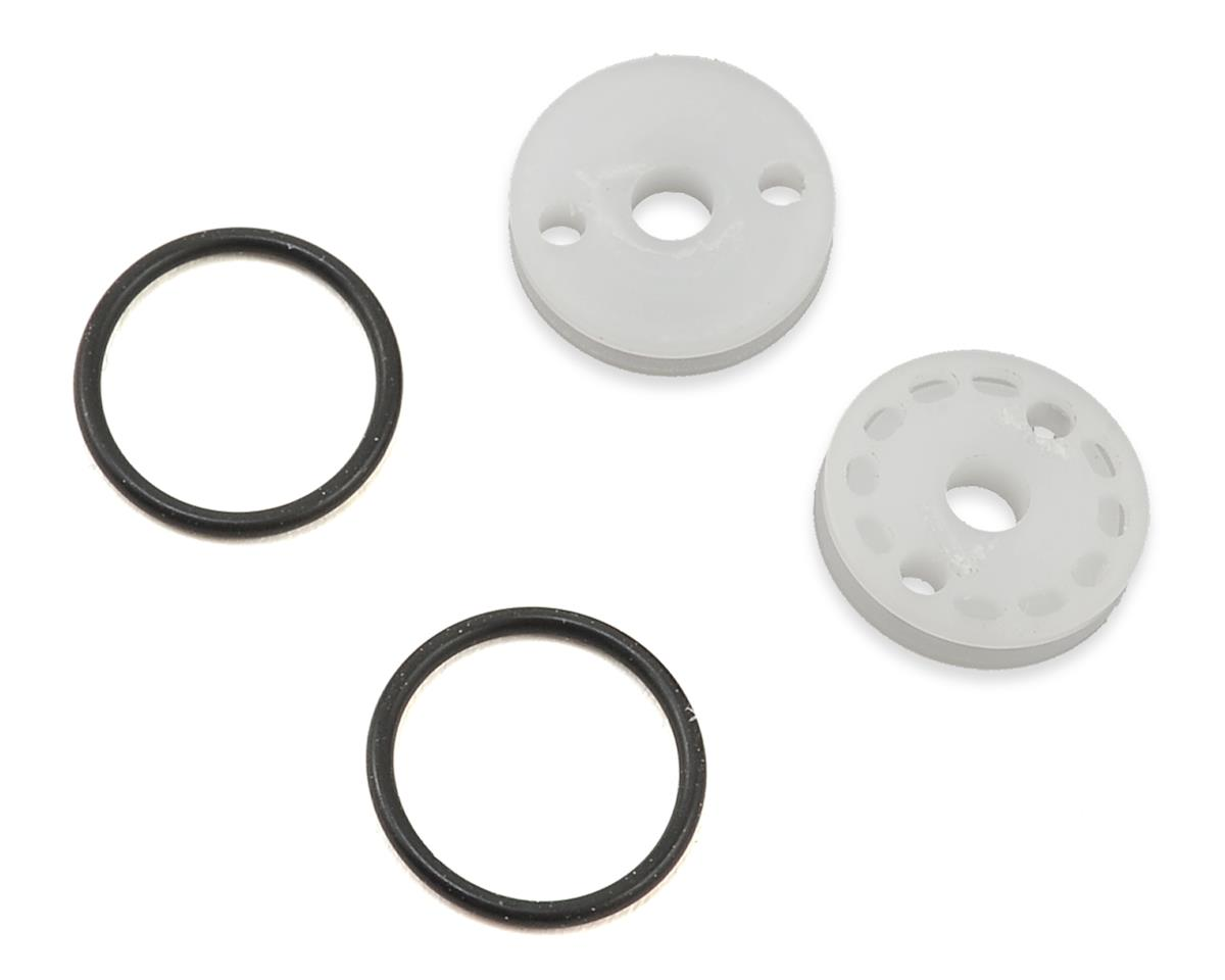 "M2C TLR 12mm O-Ring ""Thru"" Shock Pistons (2) (2x1.7 Hole)"