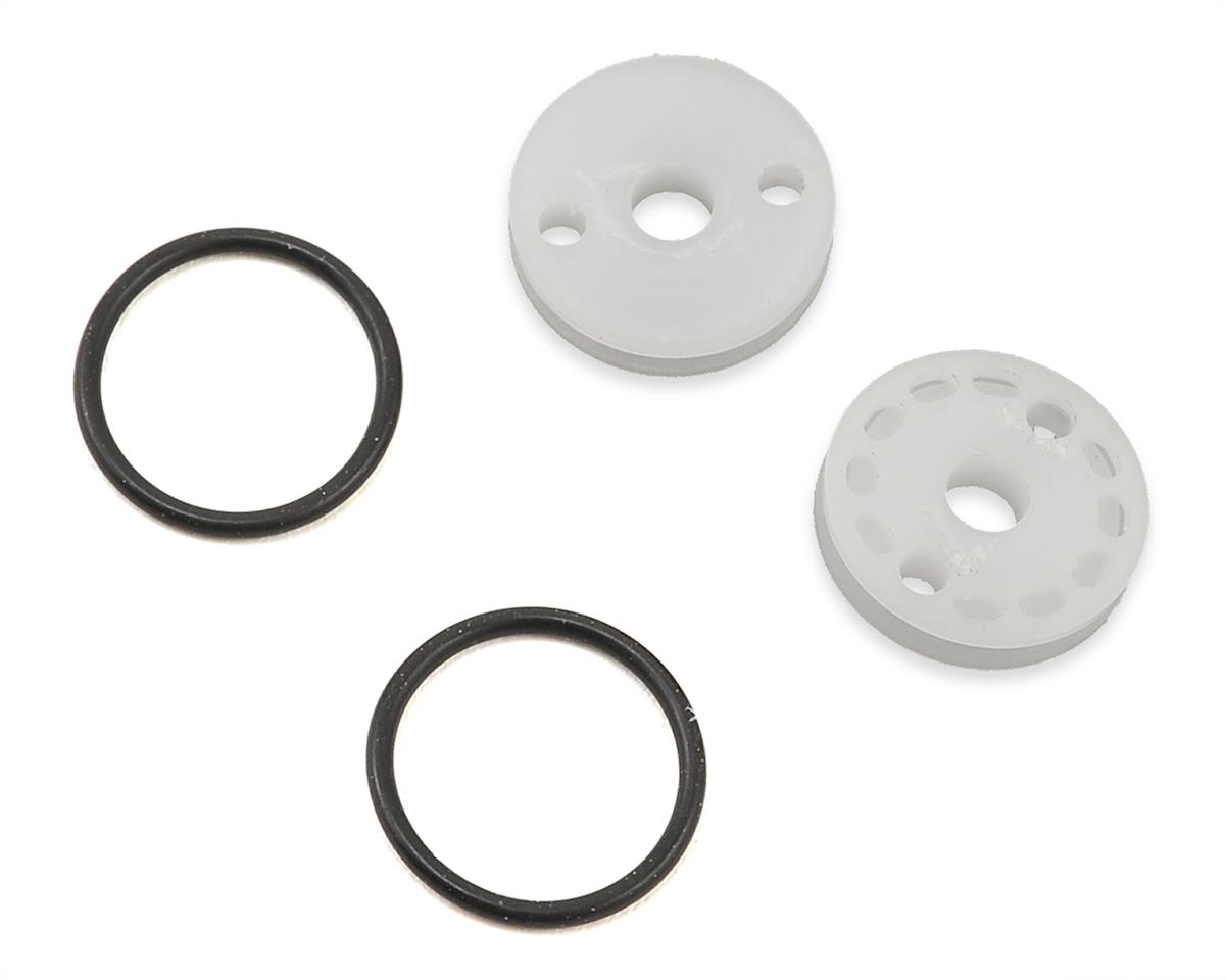 "M2C Associated 12mm O-Ring ""Thru"" Shock Pistons (2) (2x1.7 Hole)"