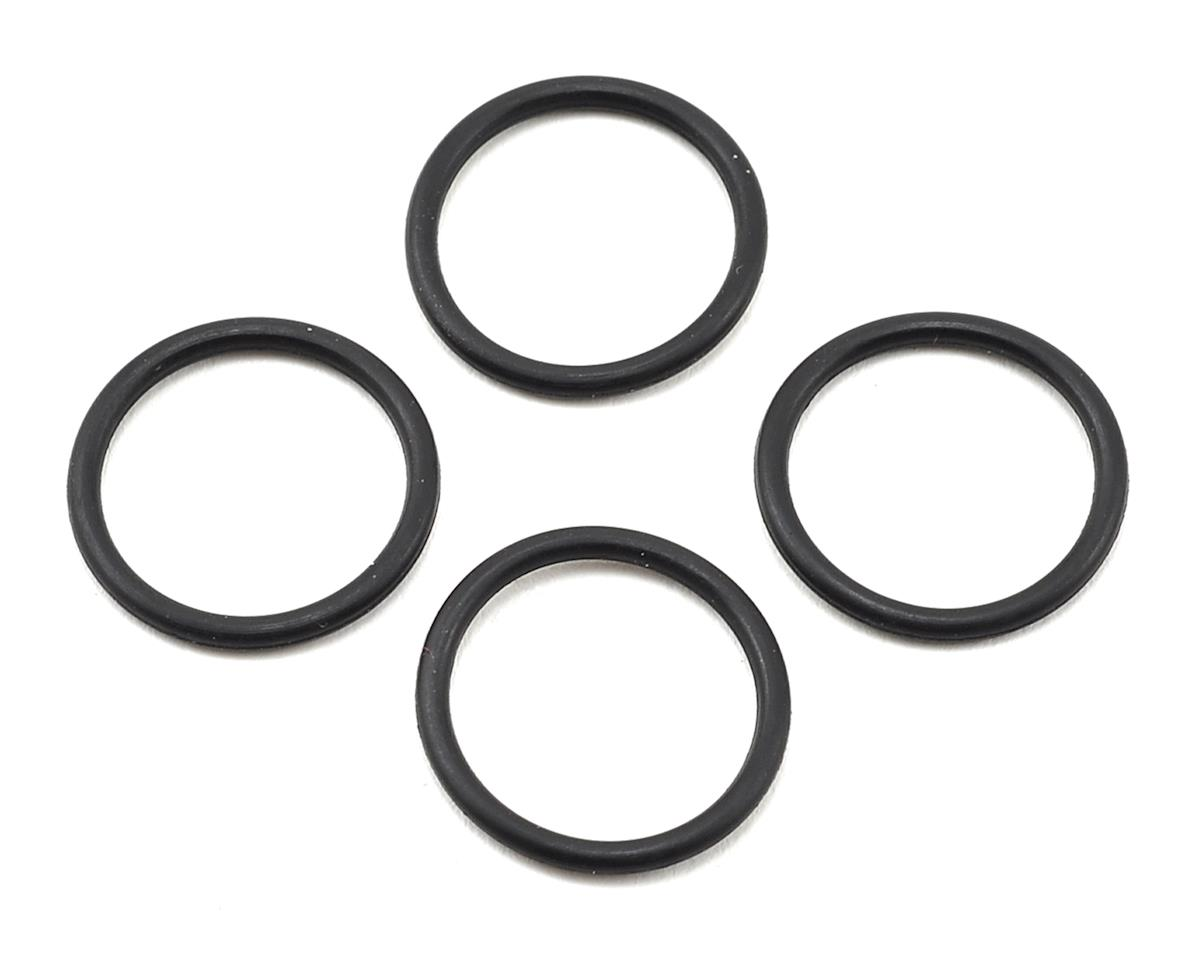 "M2C 16mm Losi/HB O-Ring ""Thru"" Shock Pistons (4) (Blank)"