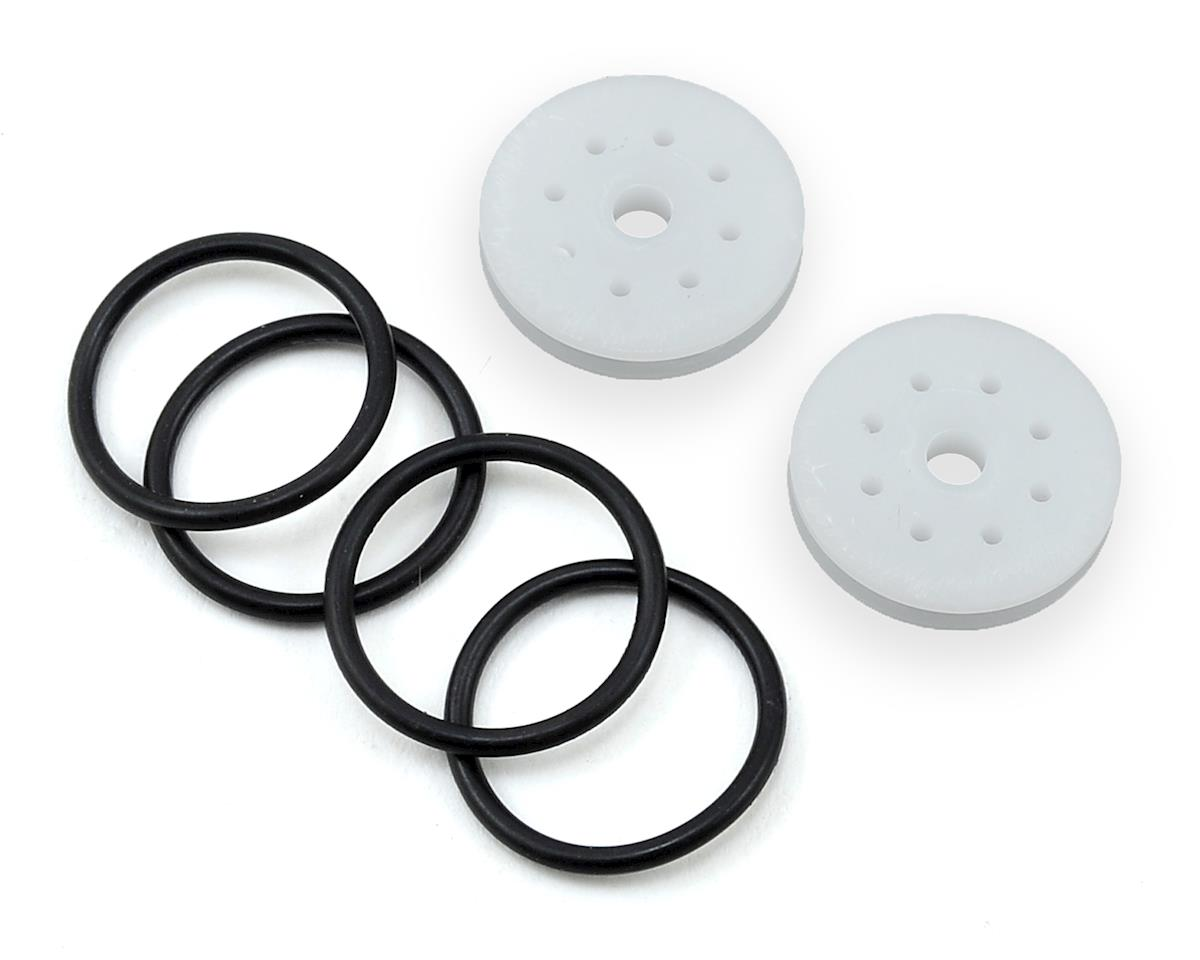 "M2C Racing 17mm Agama O-Ring ""Thru"" Shock Pistons (2) (8x1.2 Hole)"