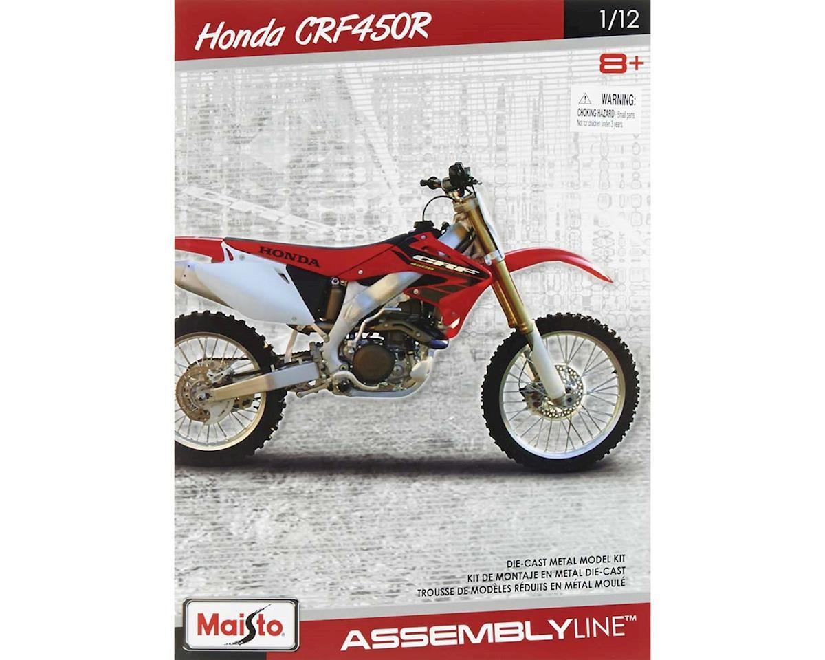 Maisto International 39054 1/12 Assembly Line Honda CRF450R