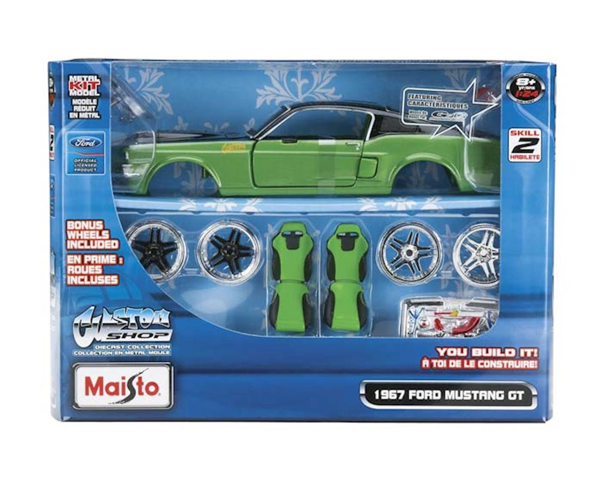 Maisto International  1/24 Pro Rodz Al 1967 Ford Mustang Gt Metal