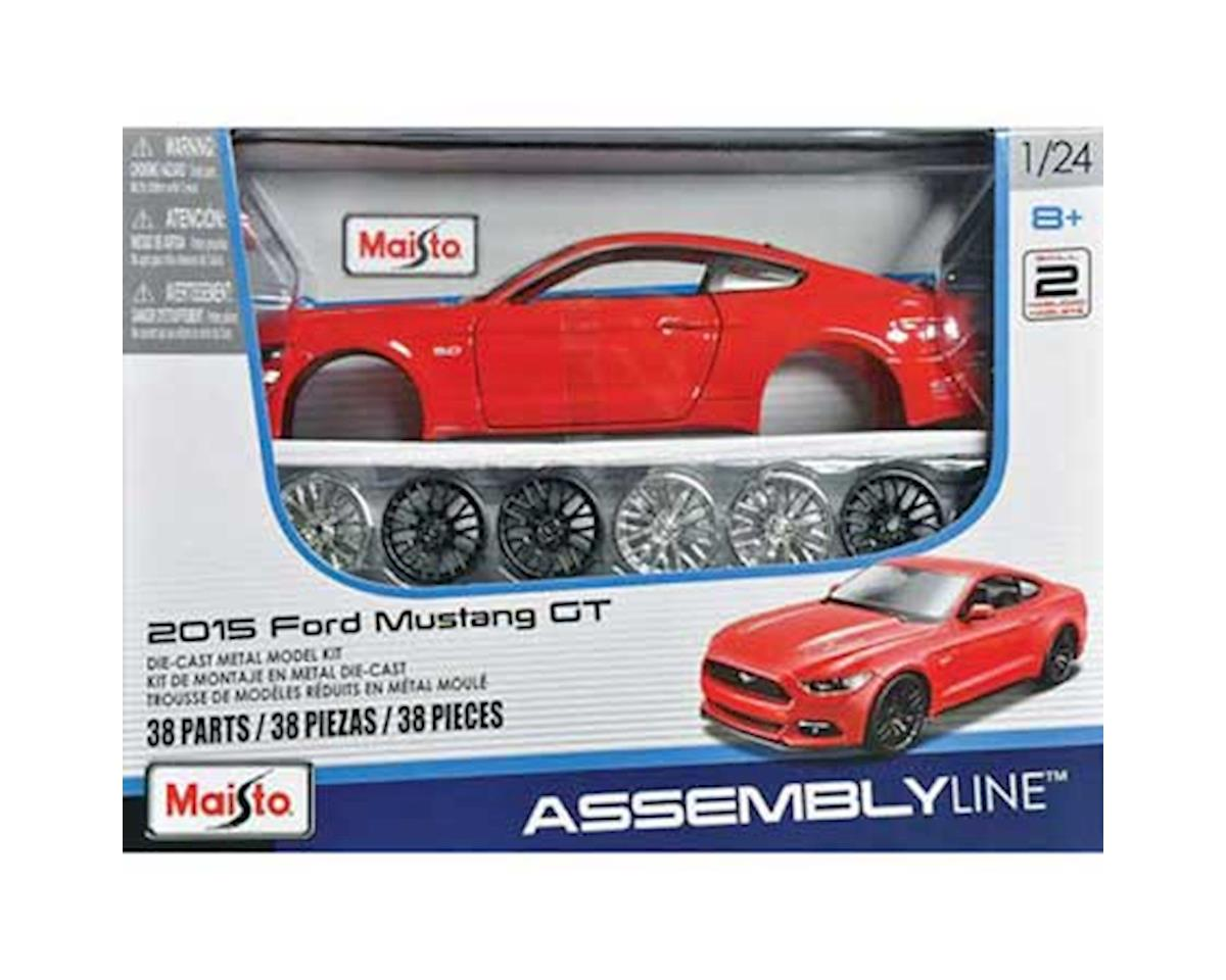 Maisto International 1/24 AL 2015 Ford Mustang