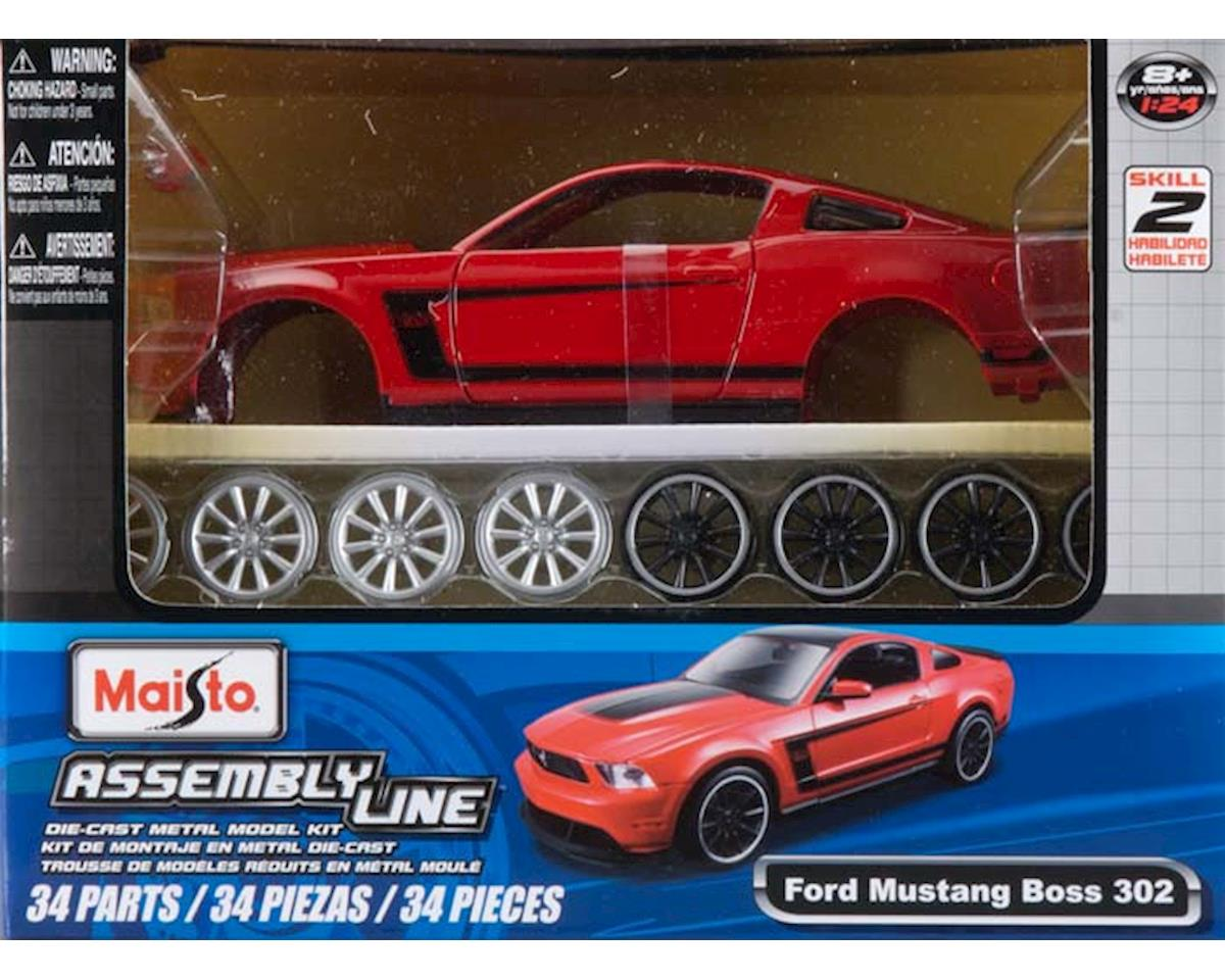 Maisto International  1/24 Al 2012 Ford Mustang Boss 302