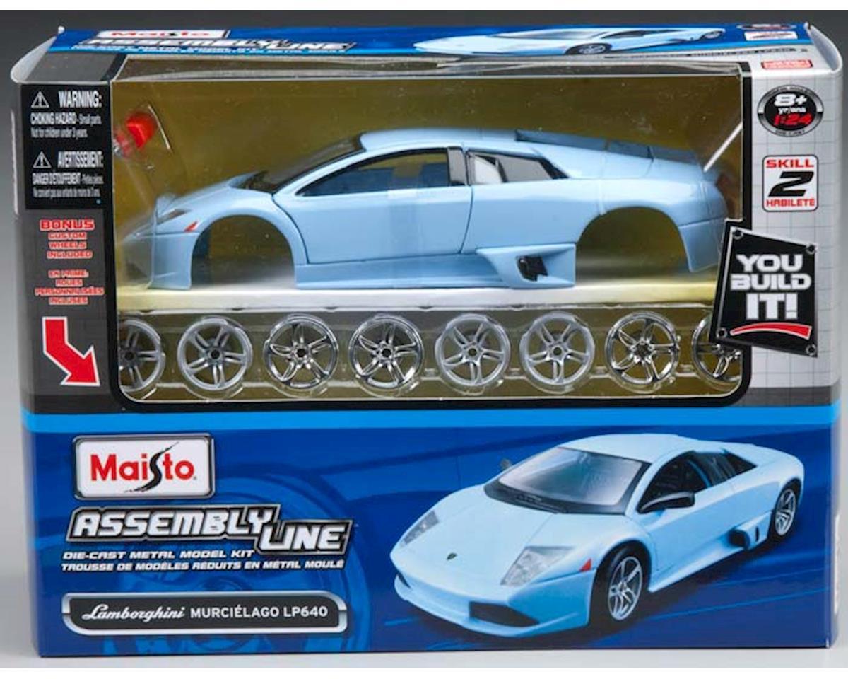 Maisto International  1/24 Al Lamborghini Murcielgo Lp 640 Metal