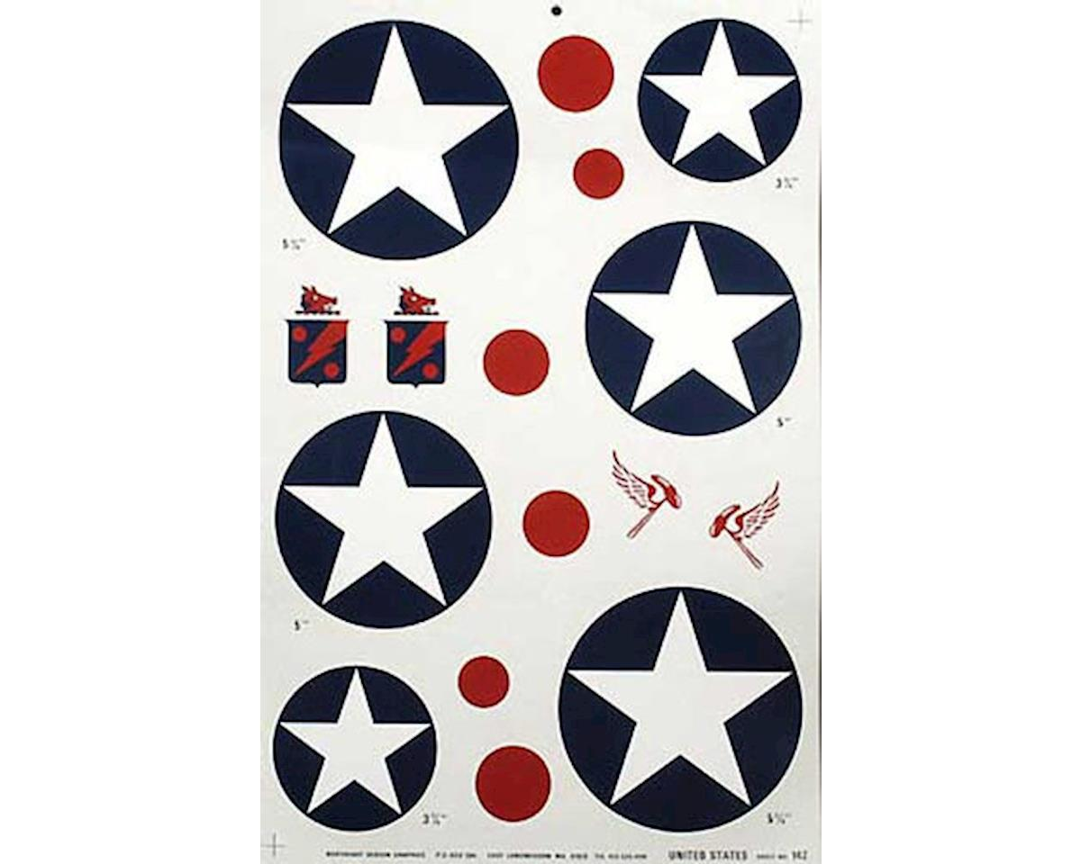 Major Decals 142P Pressure Decal US Concorde .40