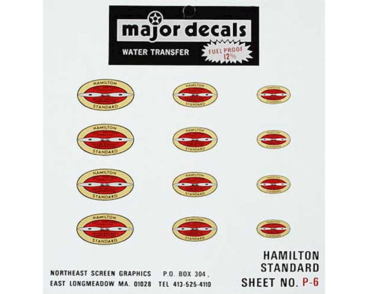 Major Decals P-6 Hamilton Standard Prop Decal
