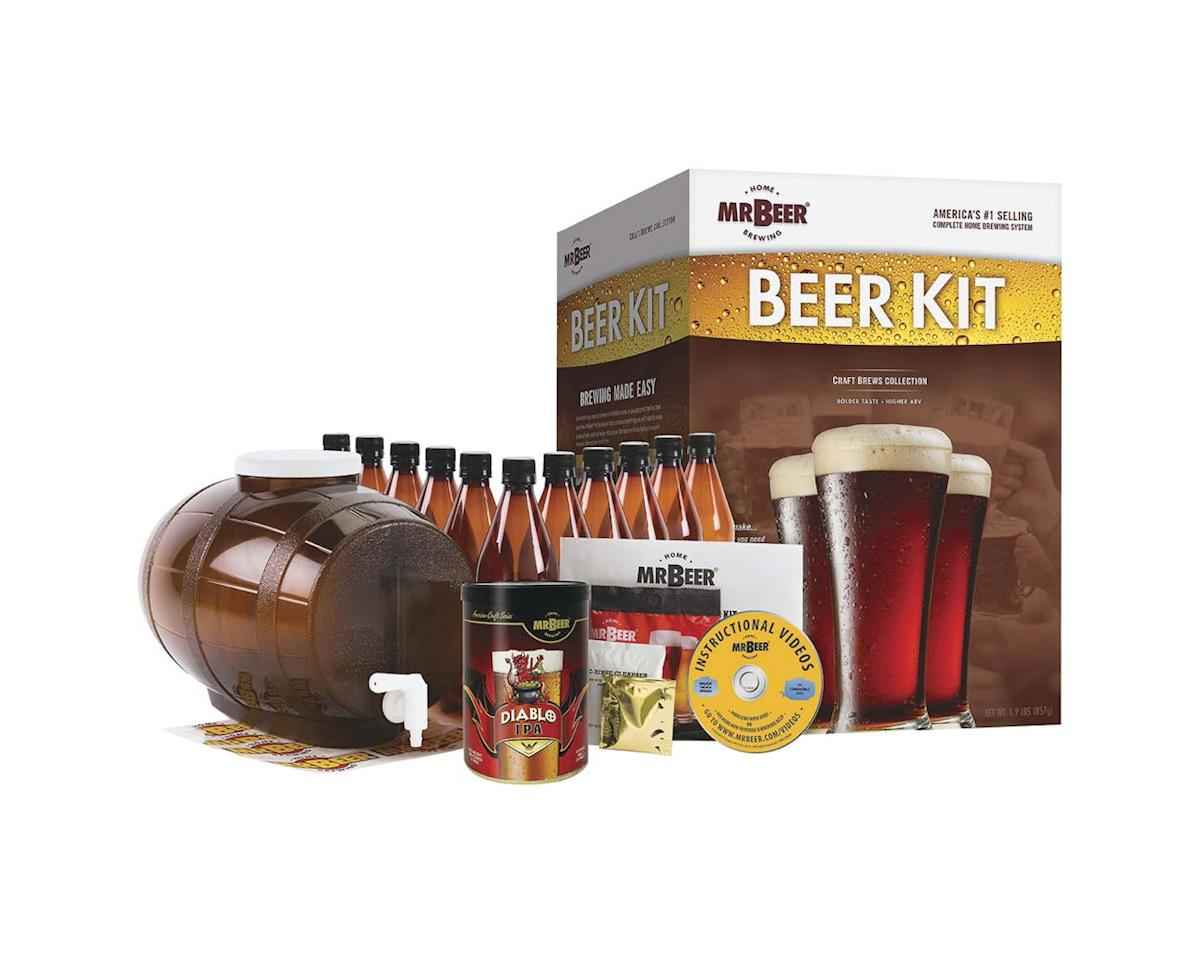 Mr. Beer 20970 Mr. Beer Diablo IPA Craft Beer Complete Kit
