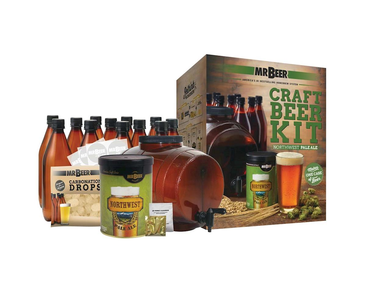 Mr. Beer 20972 Northwest Pale Ale Craft Beer Complete Kit