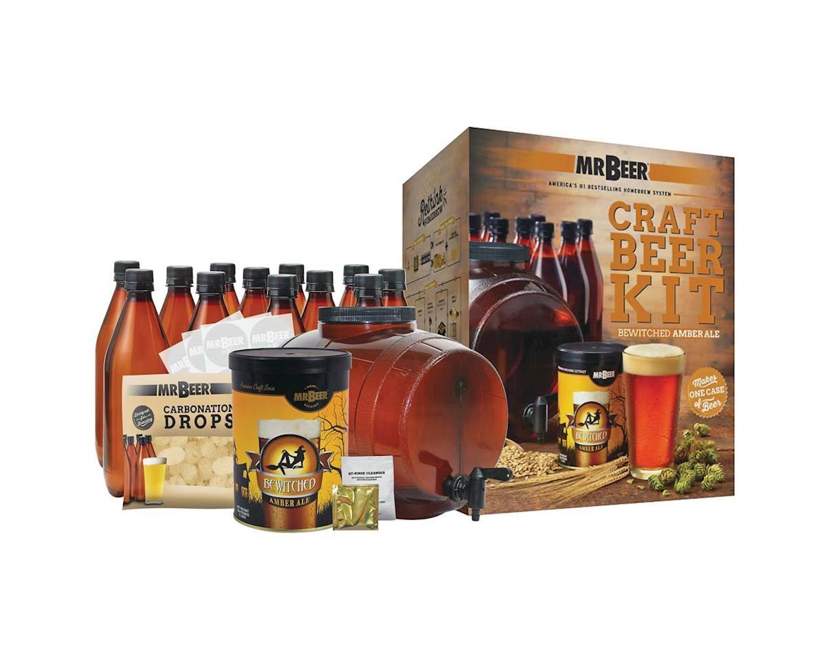 Mr. Beer 20973 Mr. Beer Bewitched Amber Ale Craft Beer Compl Kit
