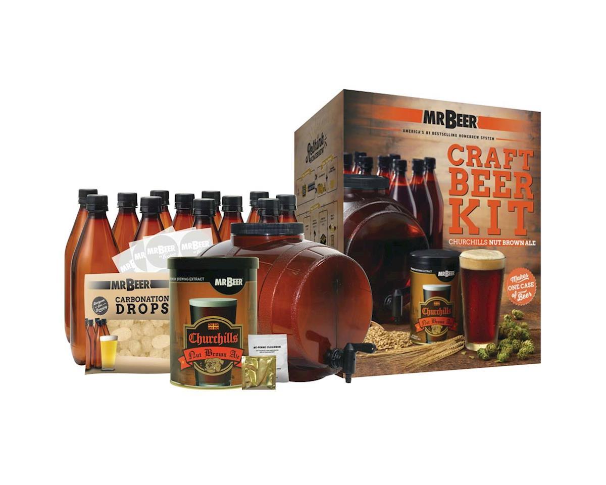 Mr. Beer 20975 Mr. Beer Churchill's Nut Brown Craft Beer Cmpl Ki