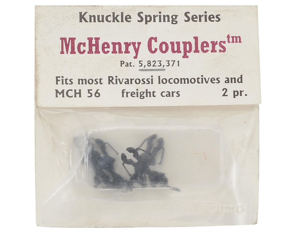 McHenry Couplers HO KS Coupler IHC/Rivarossi Locos & Rolling Stock (2 pair)
