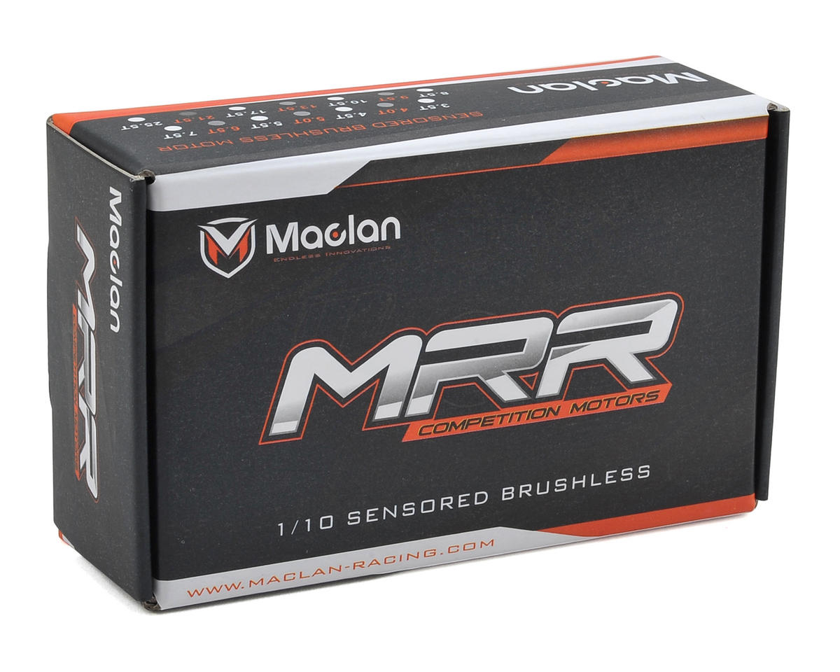 MRR Short Stack Competition Sensored Brushless Motor (17.5T) by Maclan