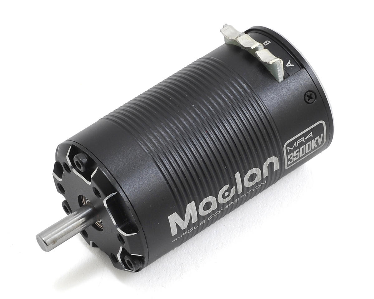MR4 Competition 4-Pole SCT Sensored Brushless Motor (3500Kv) by Maclan