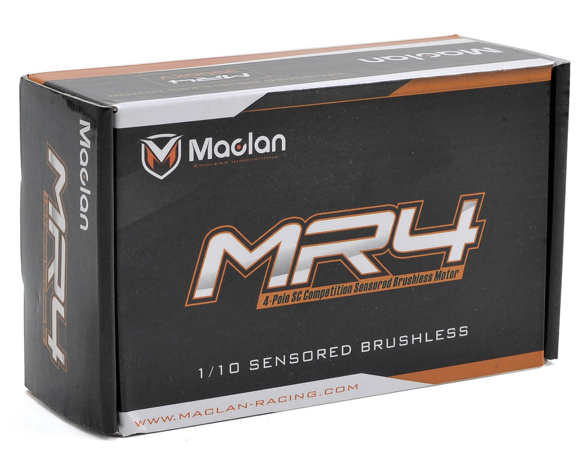 Maclan MR4 Competition 4-Pole SCT Sensored Brushless Motor (3500Kv)