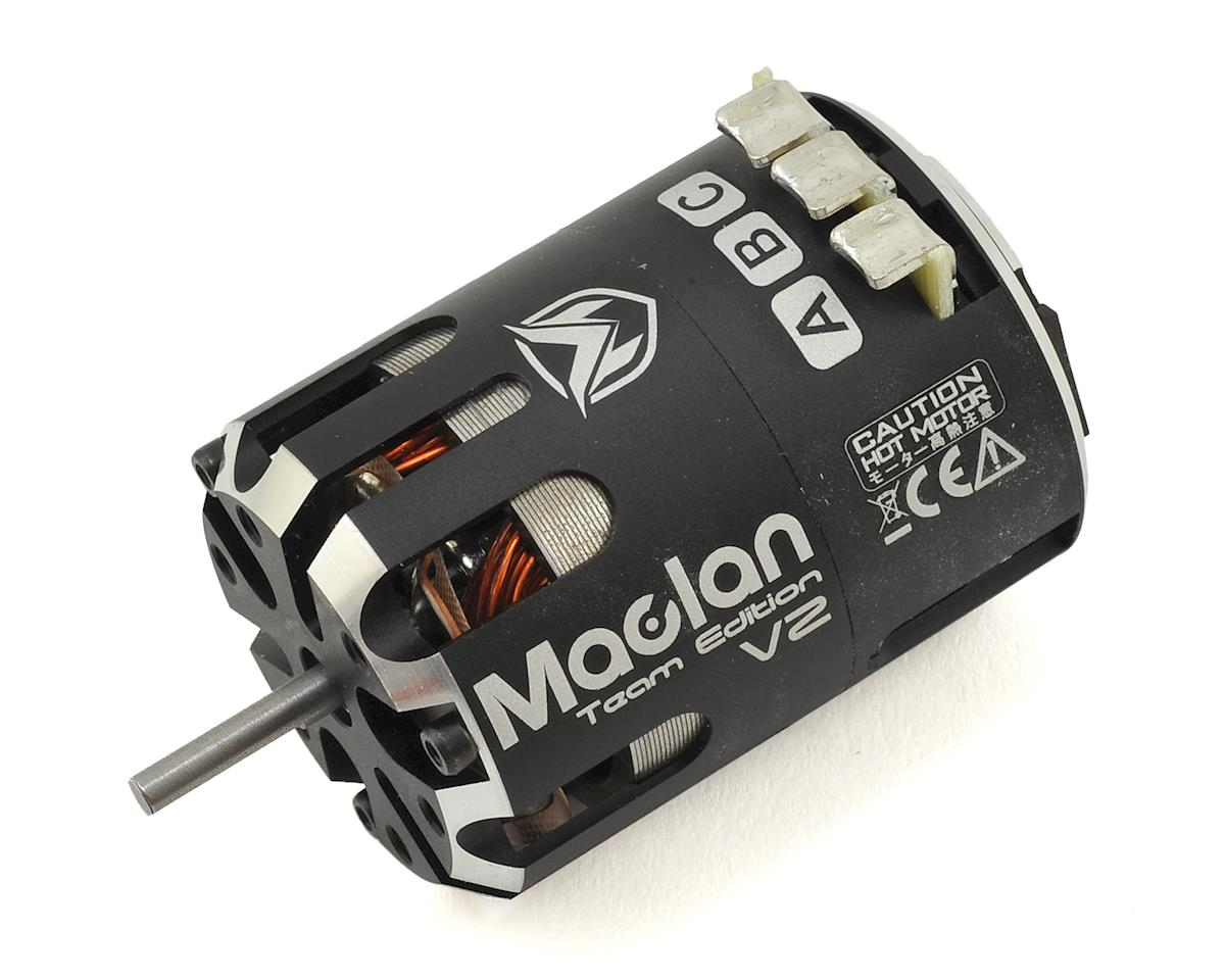 MRR Team Edition V2 Competition Sensored Brushless Motor (21.5T) by Maclan