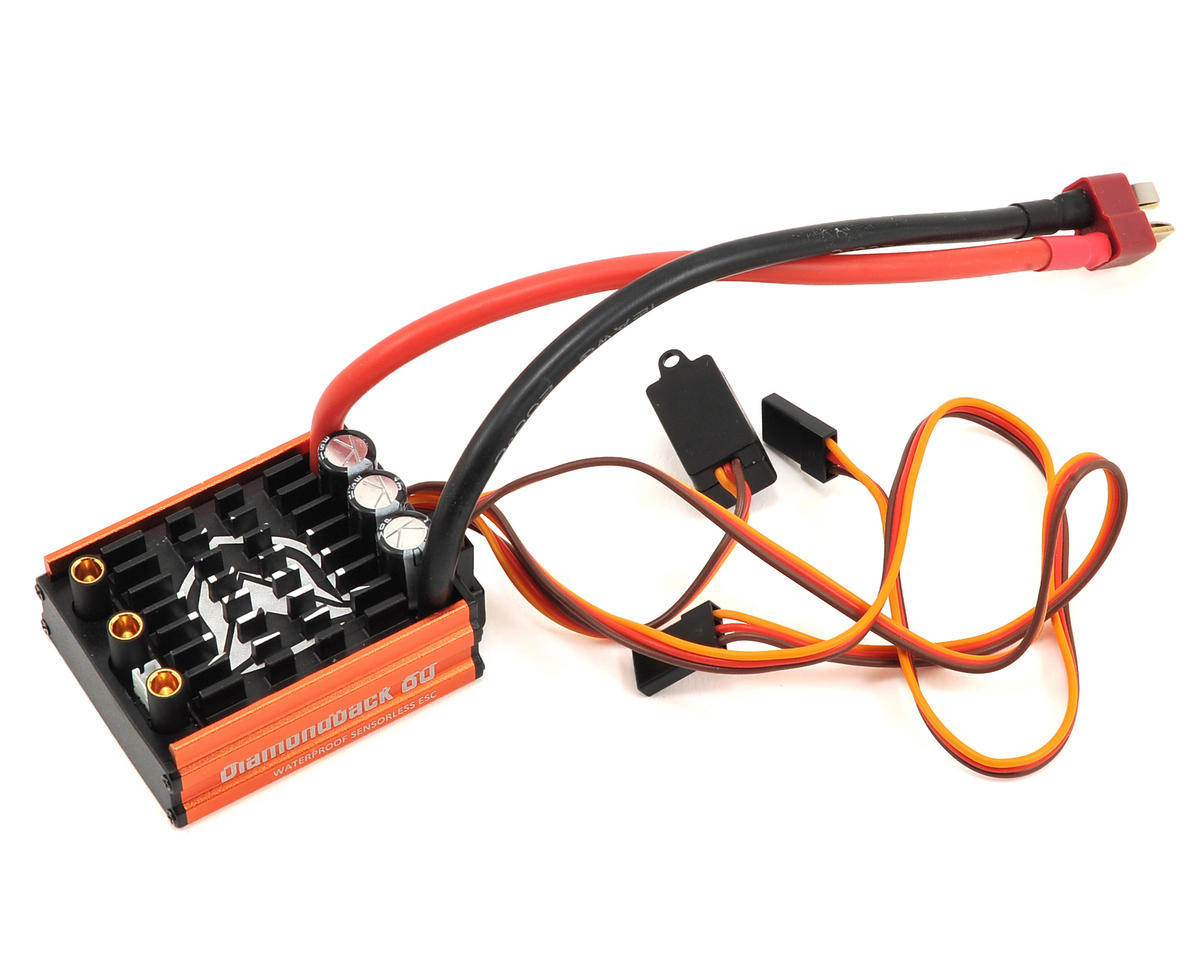 Maclan Diamondback 80A Waterproof Sensorless Brushless ESC