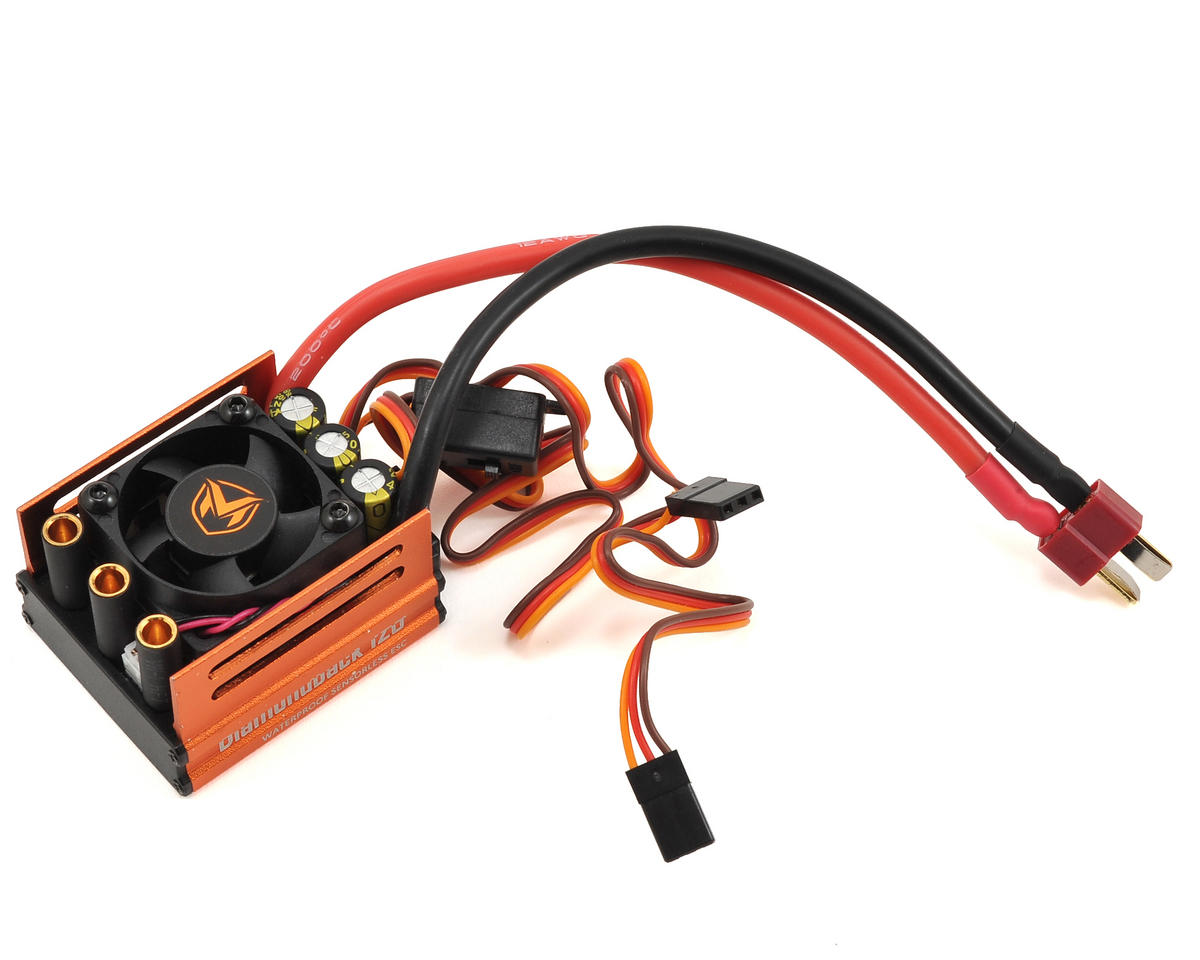 Maclan Diamondback 120A Waterproof Sensorless Brushless ESC