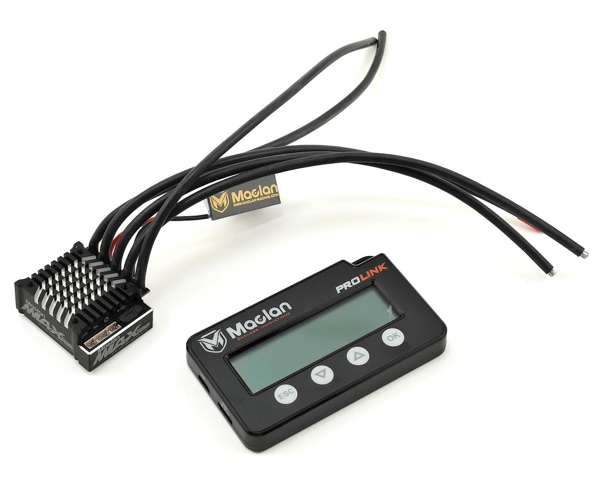 Maclan MMAX Pico 100A Competition Sensored Brushless ESC w/Prolink