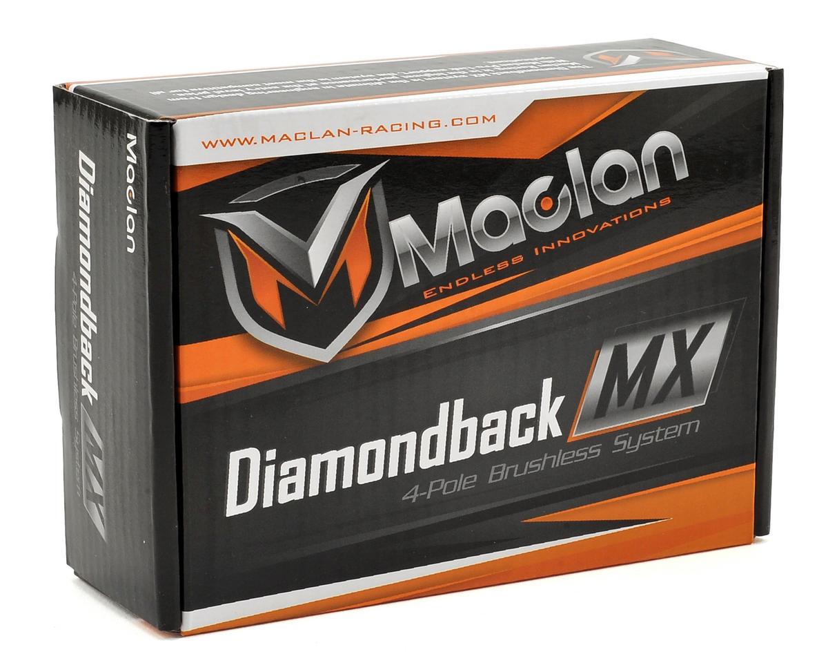 Maclan Diamondback 120A ESC & 550 4-Pole 550 Sensorless Brushless Combo (3500Kv)