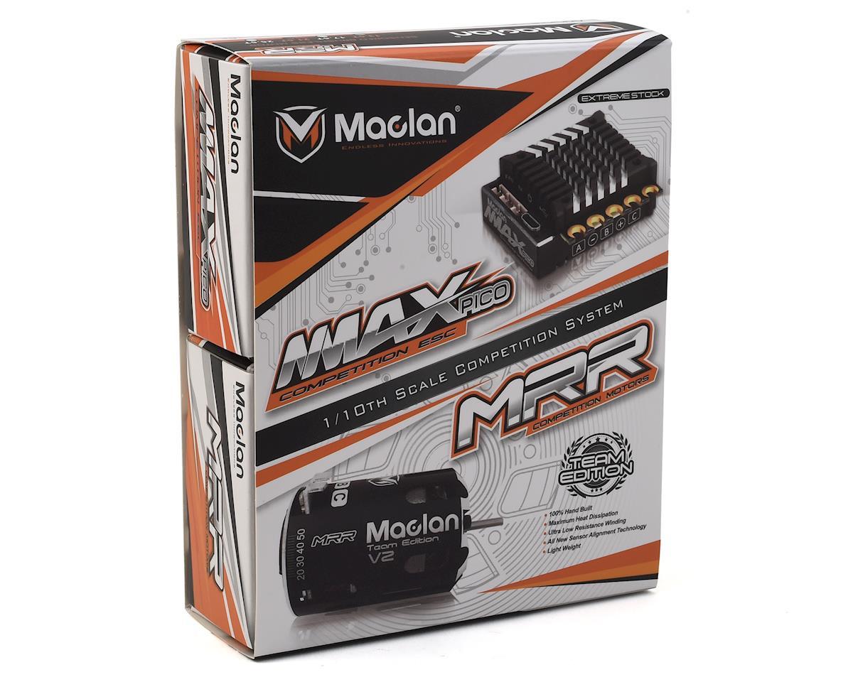 Maclan MMAX Pico 100A ESC & MRR Team Edition V2 Brushless Motor Combo (17.5T)