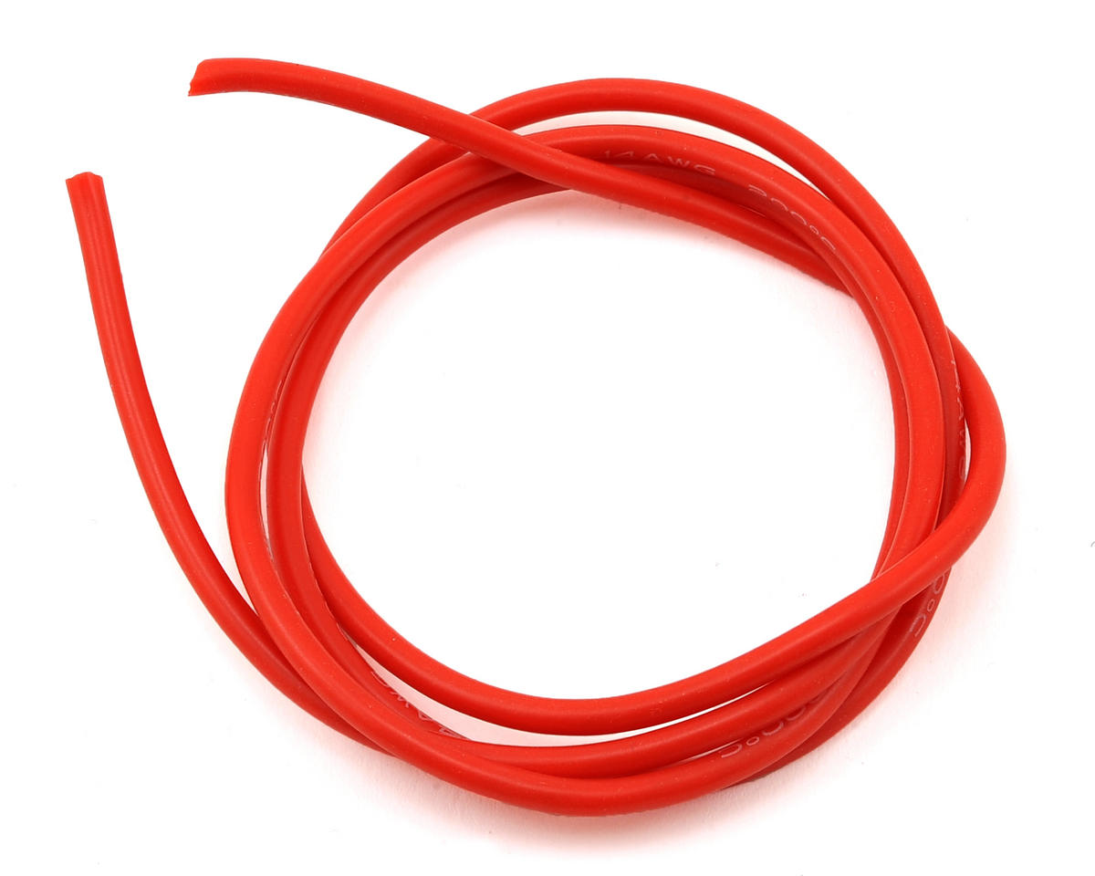 14awg Flex Silicon Wire (Red) (3') by Maclan