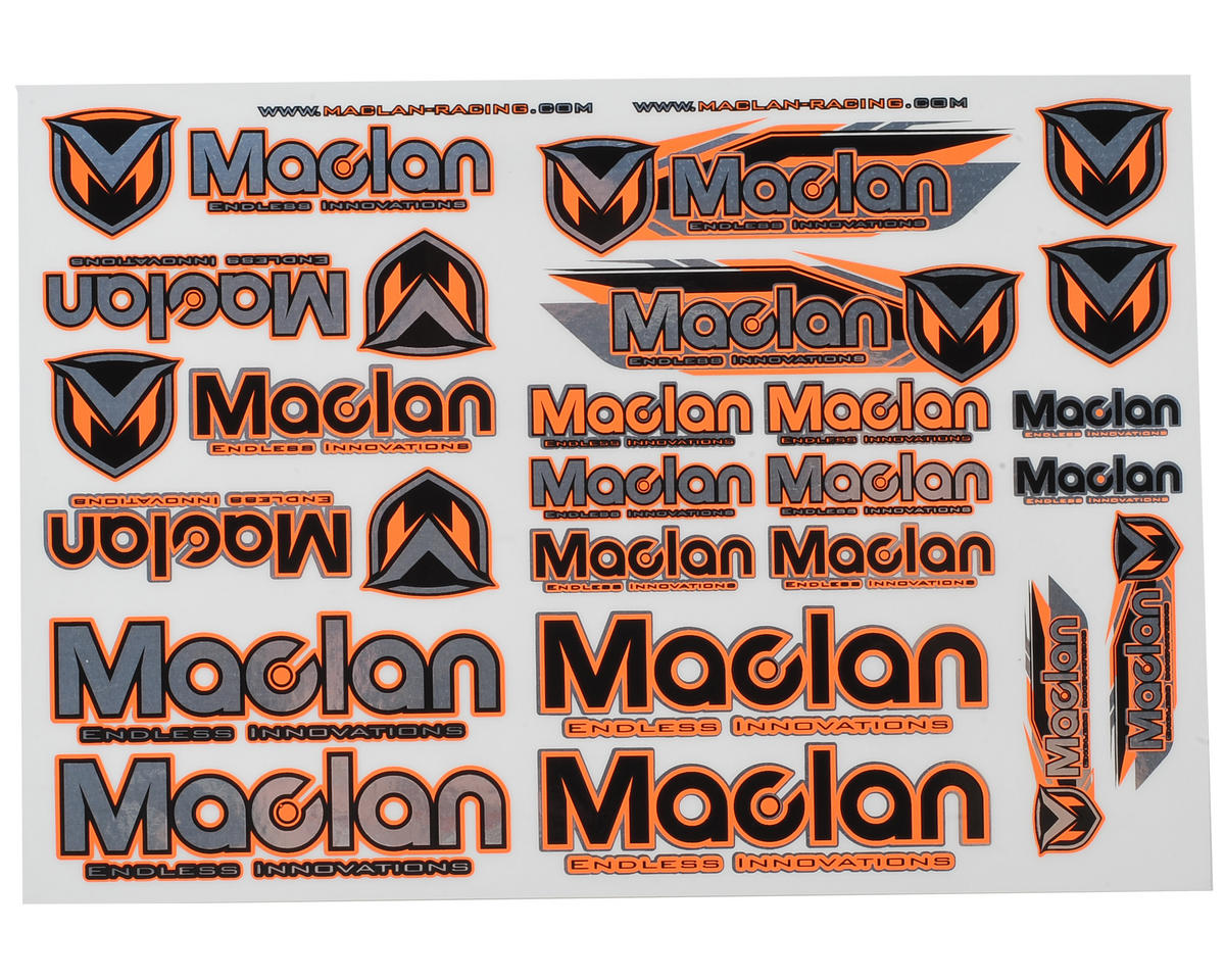 Racing Decal by Maclan