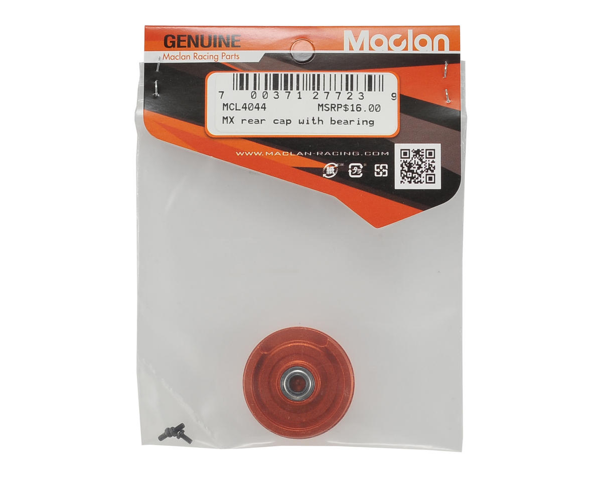 Maclan MX540/550 End Cap w/Bearing & Screw Kit