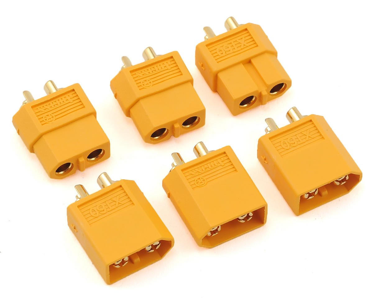 Maclan XT60 Connectors (3 Sets)