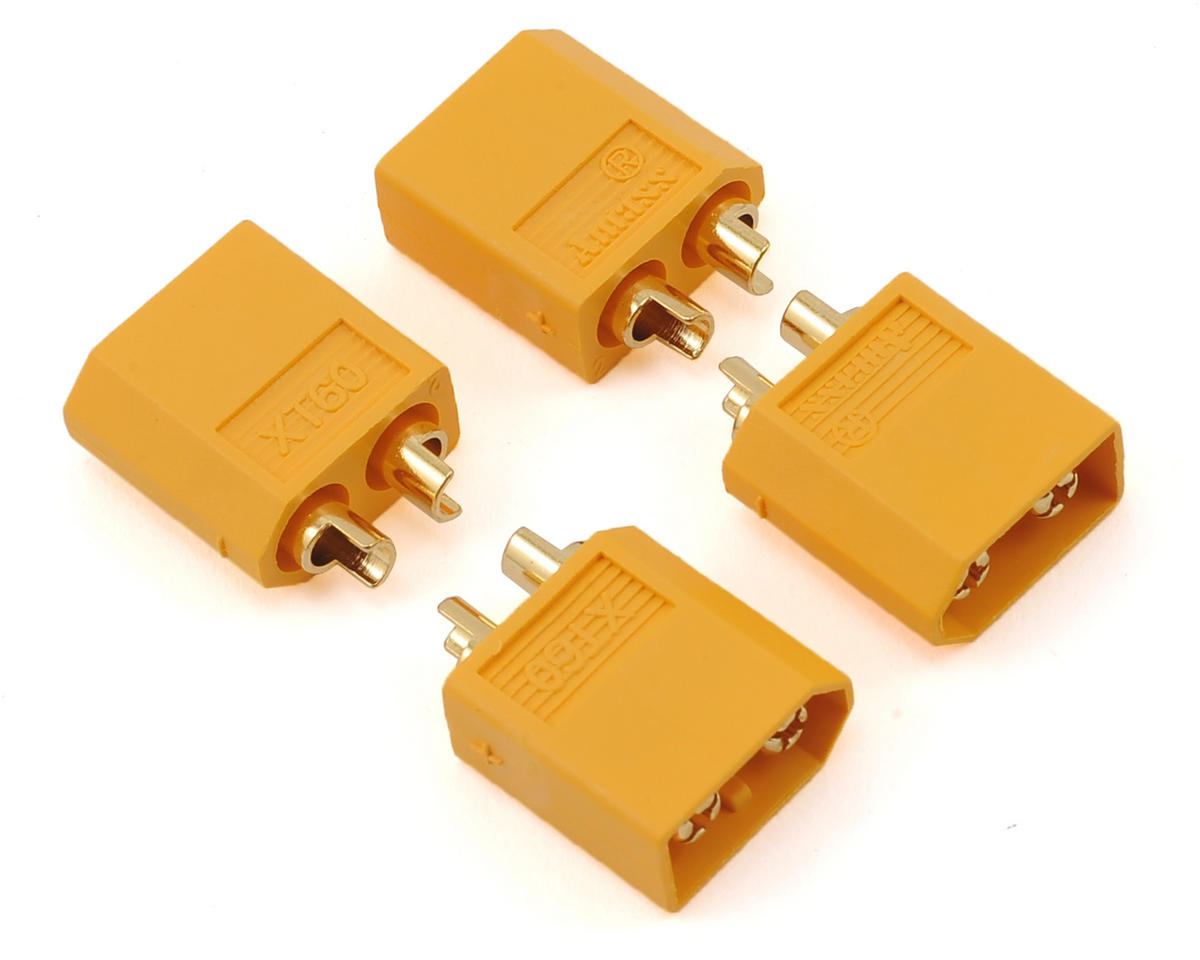 XT60 Connectors (4 Male) by Maclan