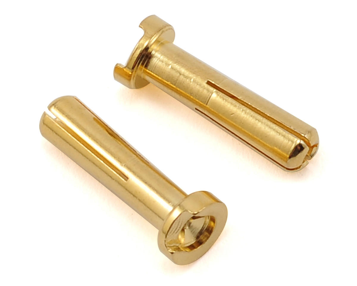 Max Current 4mm Gold Bullet Connectors  (2) by Maclan