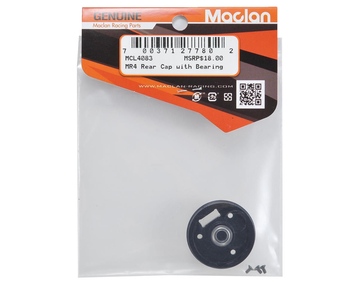 Maclan MR4 Rear Motor Cap w/Screws