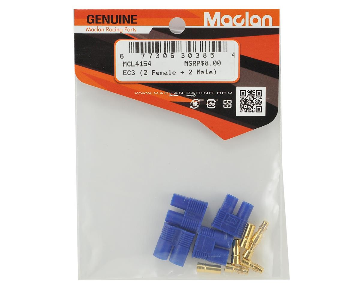 Maclan EC3 Connectors (2 Female + 2 Male)