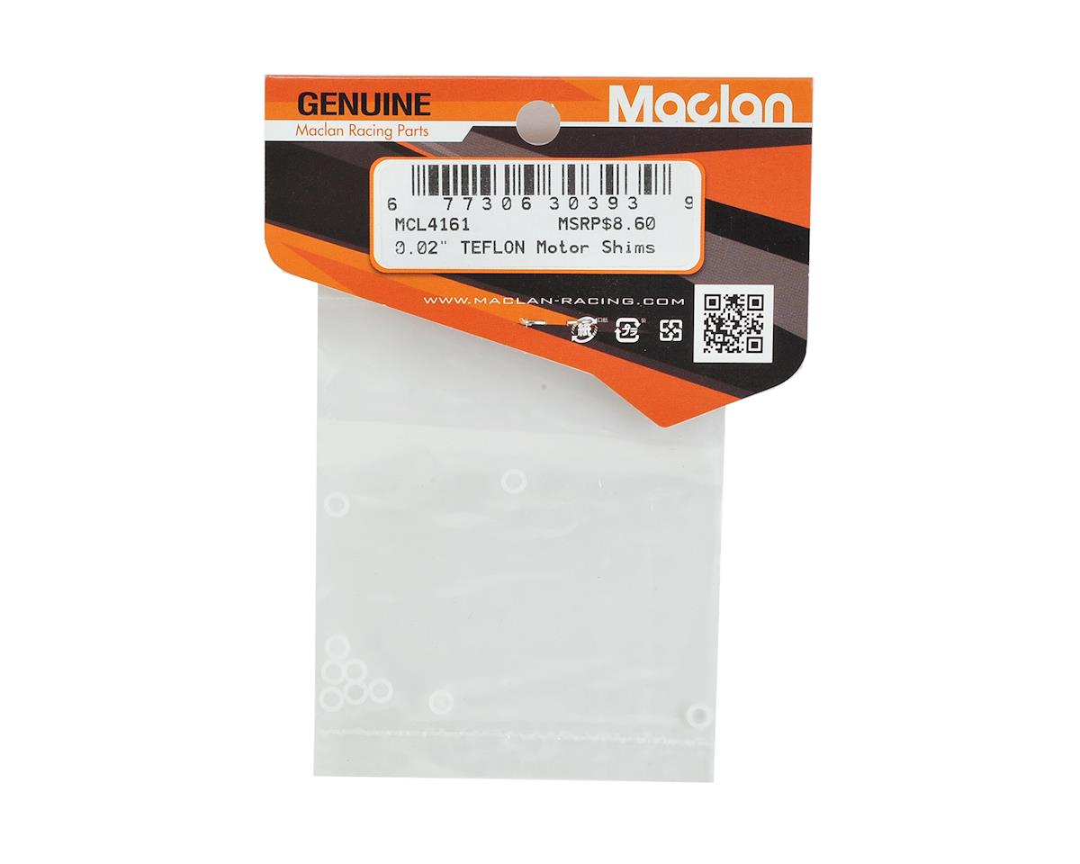 "Maclan 0.02"" High Precision Teflon Motor Shims (10)"