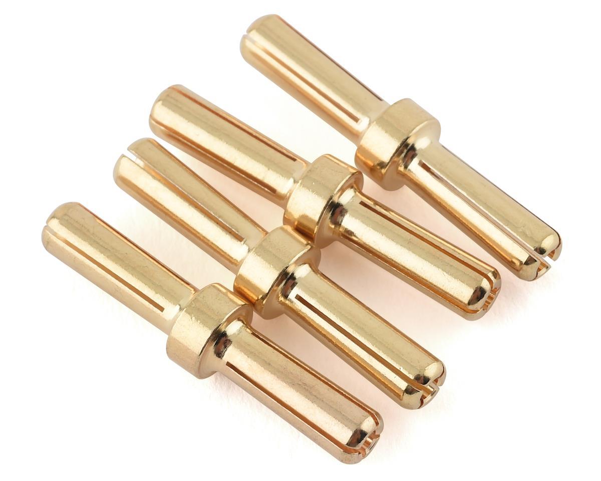 Maclan 4mm Gold Serial Bullet Connectors (4)