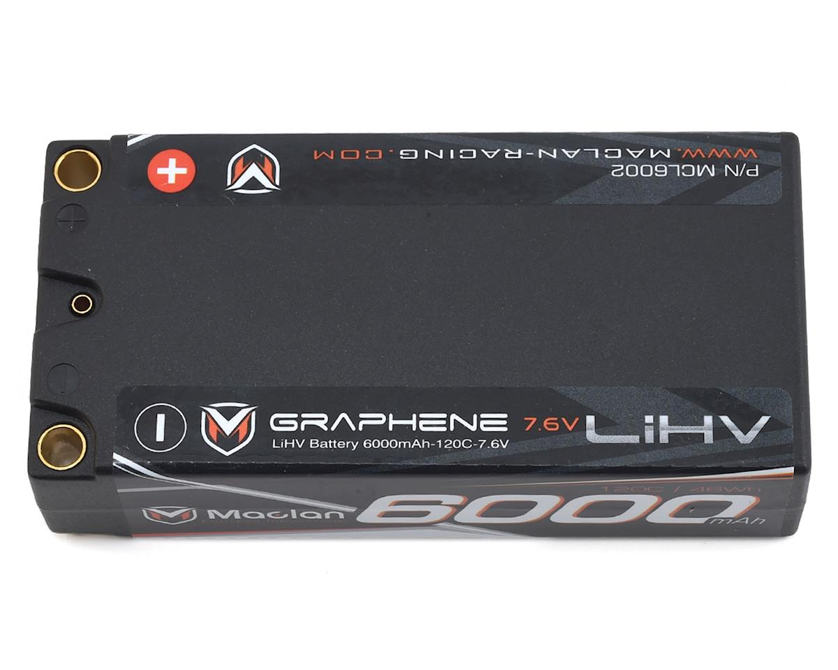 HV Graphene 2S Shorty 120C Race Formula LiPo Battery (7.6V/6000mAh) by Maclan
