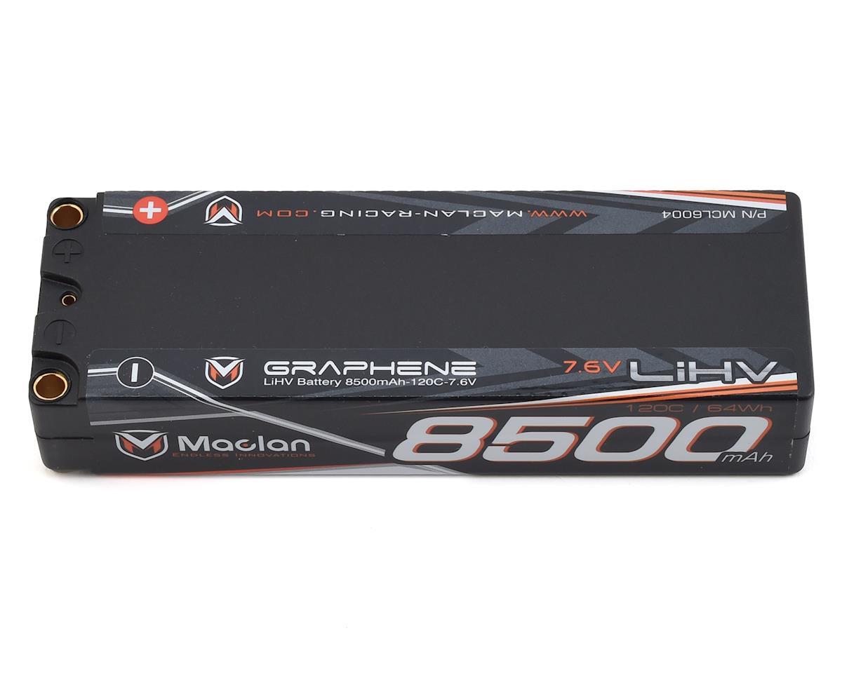 Maclan HV Graphene 2S 120C Race Formula LiPo Battery (7.6V/8500mAh)