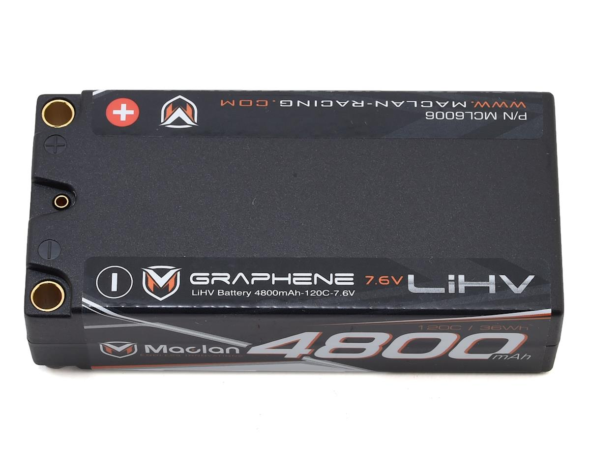 Maclan HV Graphene 2S Shorty 120C Race Formula LiPo Battery (7.6V/4800mAh)