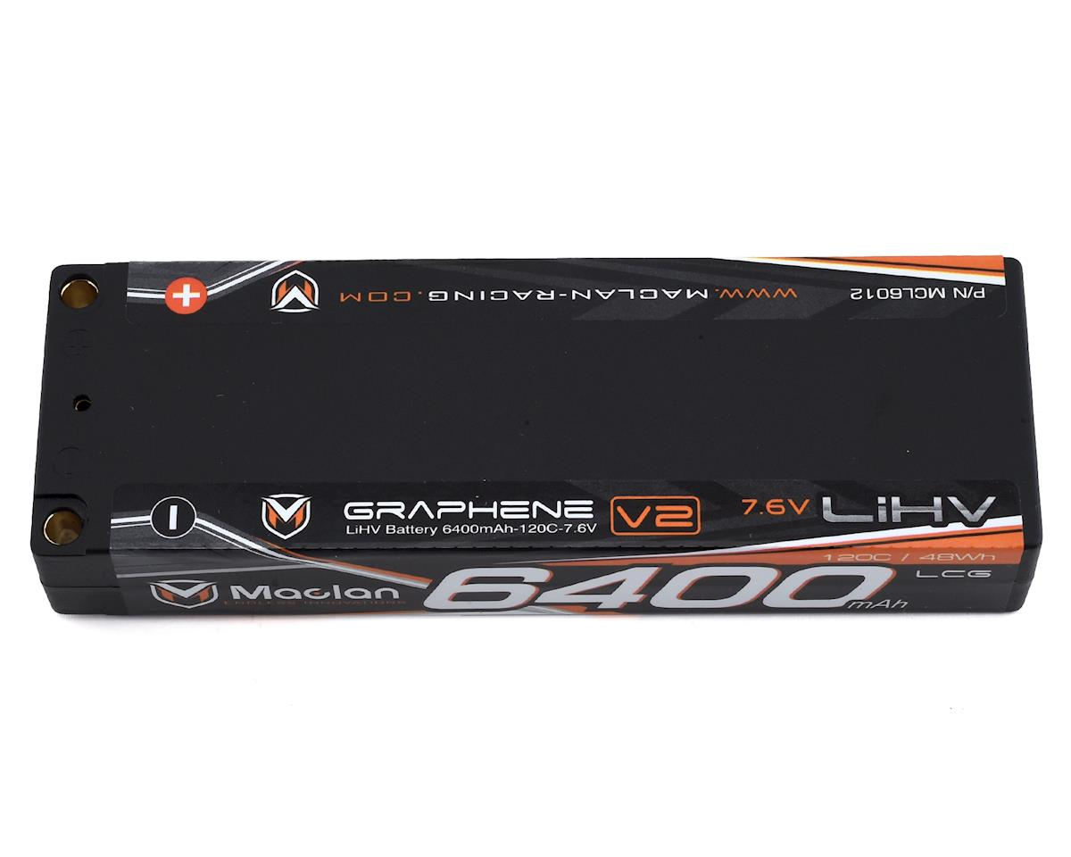 Maclan LCG HV Graphene 2S Race Formula LiPo Battery (7.6V/6400mAh)