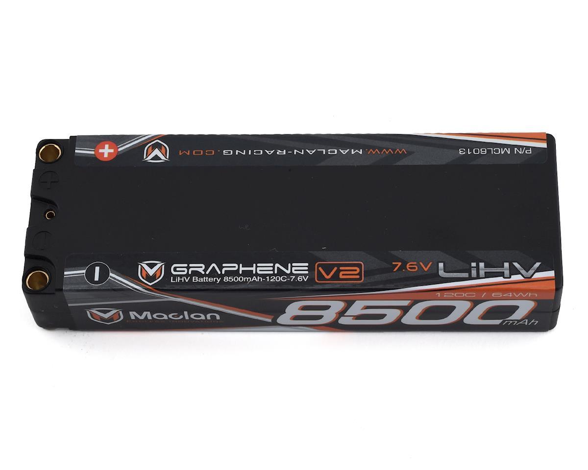 Maclan HV Race Formula Graphene 2S LiPo Battery (7.6V/8500mAh)