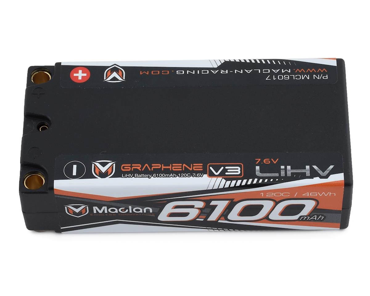 Maclan HV Graphene V3 2S Shorty LiPo Battery (7.6V/6100mAh)
