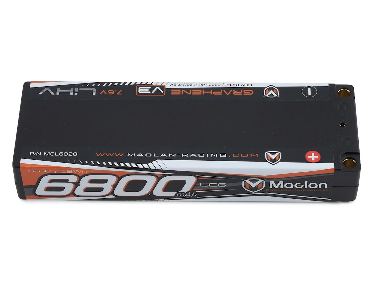 Maclan HV Graphene V3 2S LiPo LCG Battery (7.6V/6800mAh) | relatedproducts