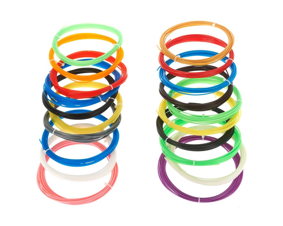 0970 Refill Filament 20 Color x 5 Meter 10 ABS/10 PLA