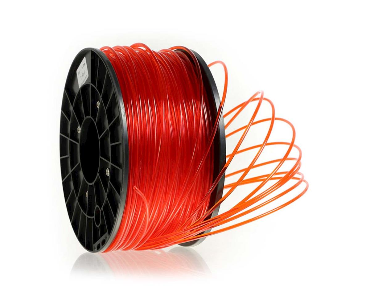 7712 PLA Filament 1312ft Transparent Red
